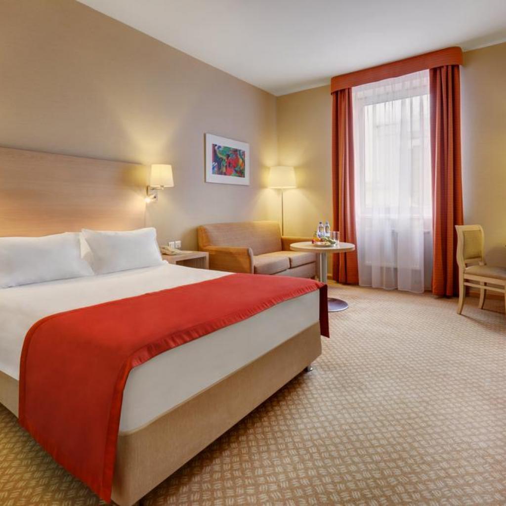 Hotel Holiday Inn Lesnaya Guest room I Lähialuematkat