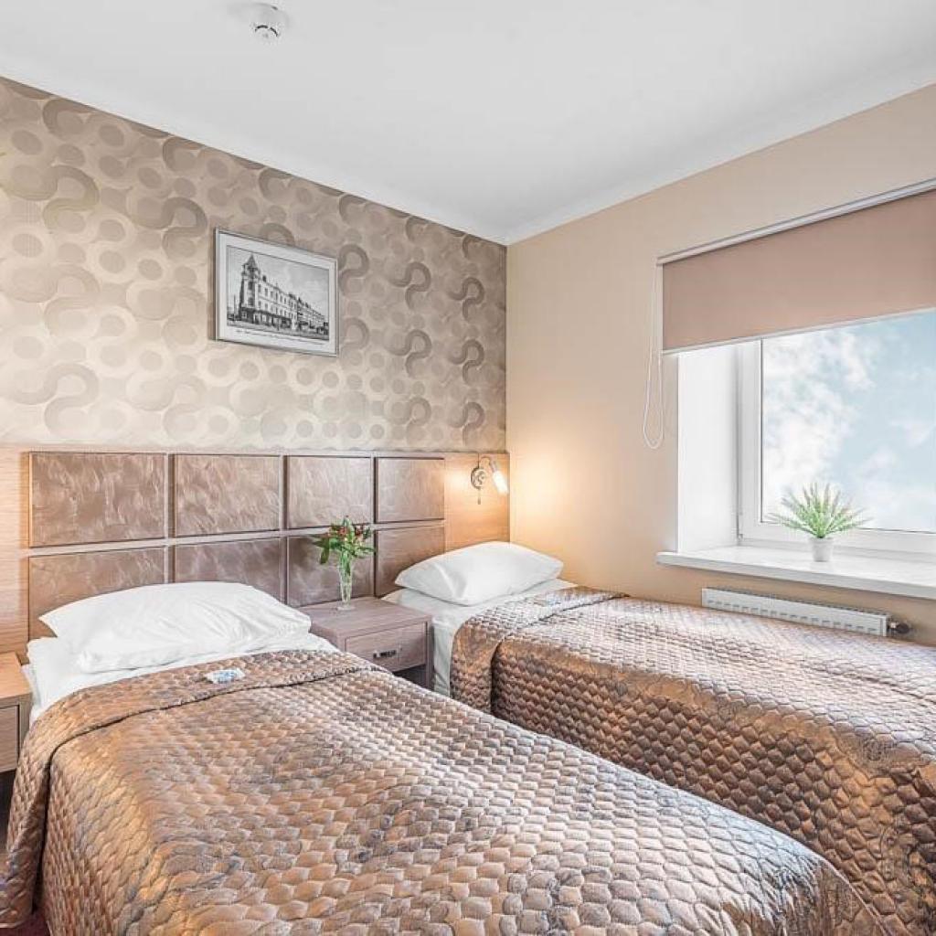 Apart Hotel Tsentrin huone Tulassa.