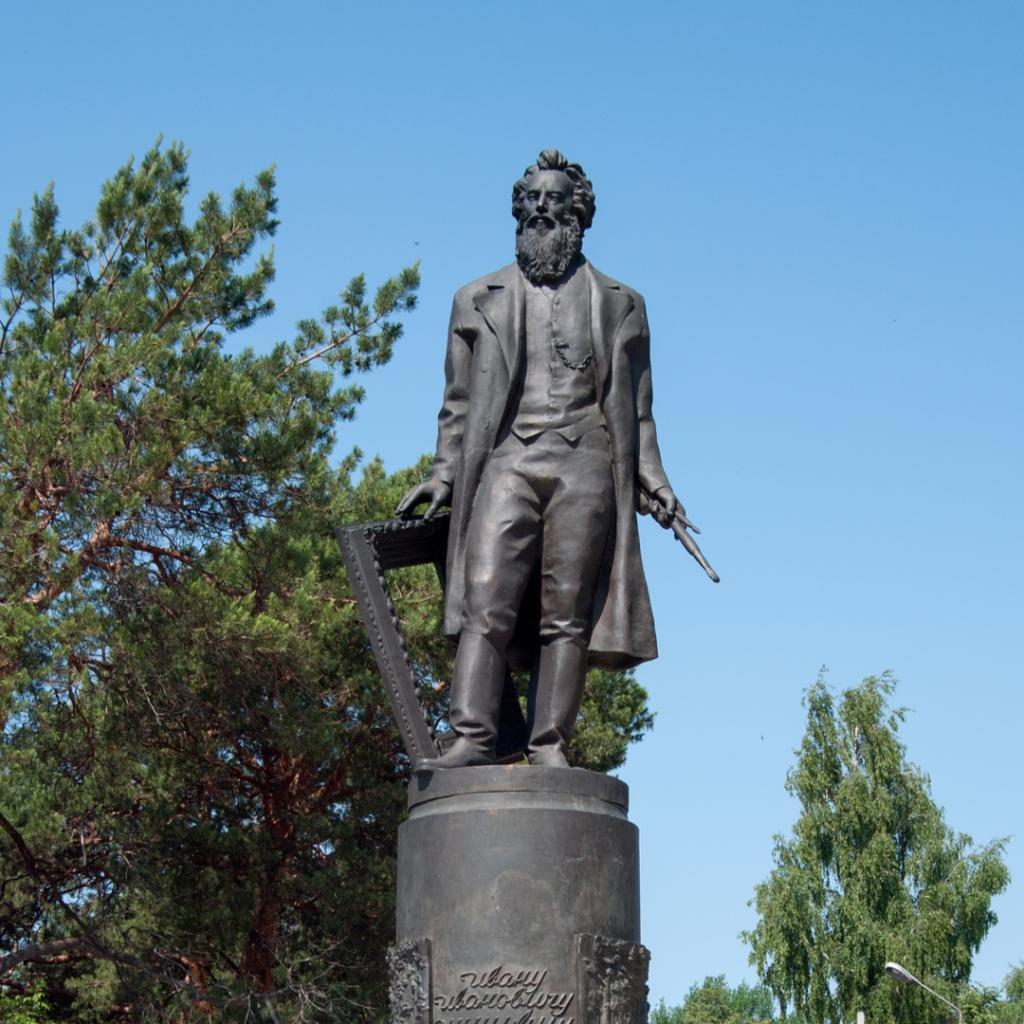 Taidemaalari Ivan Shishkin Jelabuga Tatarstan Lähialuematkat
