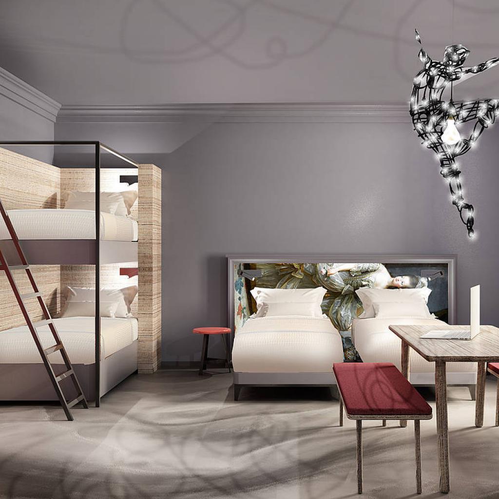 Meininger Hotel Pietari 4 hengen huone I Lähialuematkat