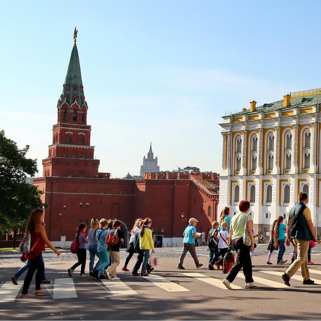 Moskovan Kremlin asehuone ja Borovitskin torni I Lähialuematkat