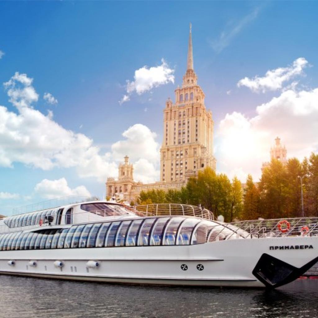 Moskovan jokiristeilijä I Lähialuematkat