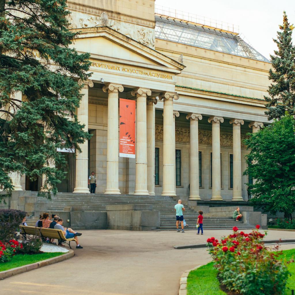 Pushkinin taidemuseo on Moskovan ykkösnähtävyyksiä_Lähialuematkat