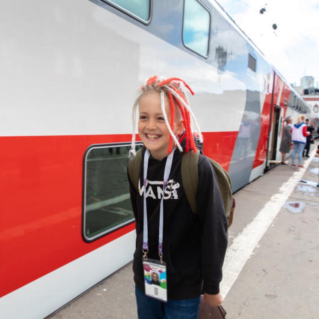 Venäjällä junat kulkevat aikataulussa