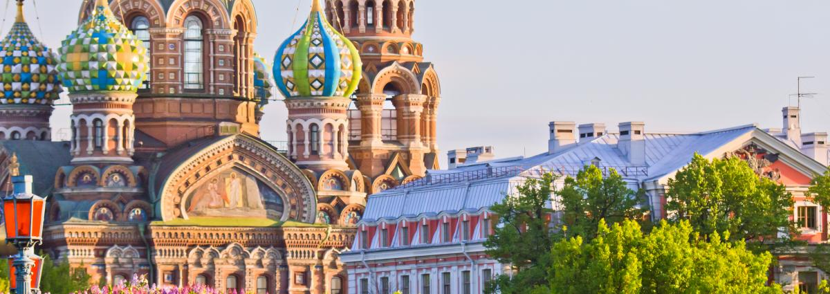 Kevät on saapunut Moskovaan