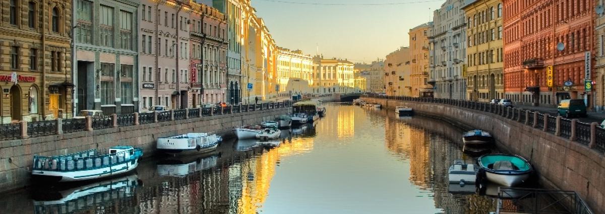 Pietari on kanavien kaupunki.
