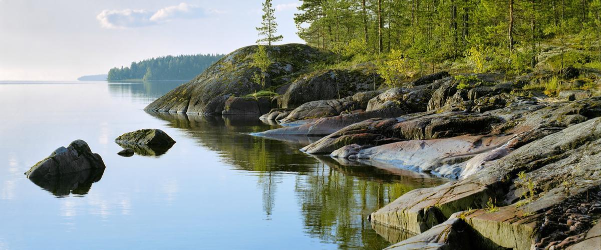 Maisema luonnonkaunillta Laatokalta_Lähialuematkat