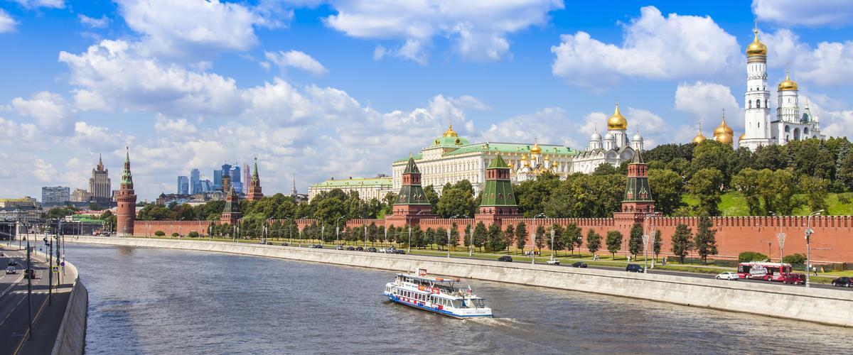 Jokiristeily Moskovajoella, Kreml, Moscow City I Lähialuematkat