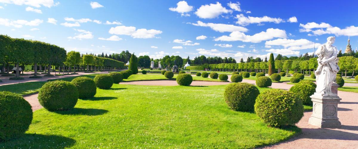 Pietari on puistojen kaupunki.