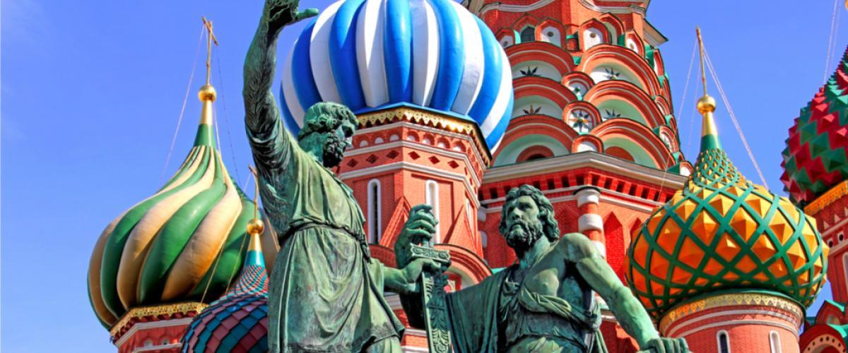 Pyhän Vasilin kirkko Punaisella torilla Moskovassa_Lähialuematkat