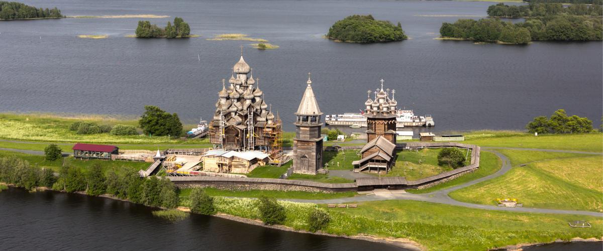 Kizhin kirkko on Unescon maailmanperintökohde