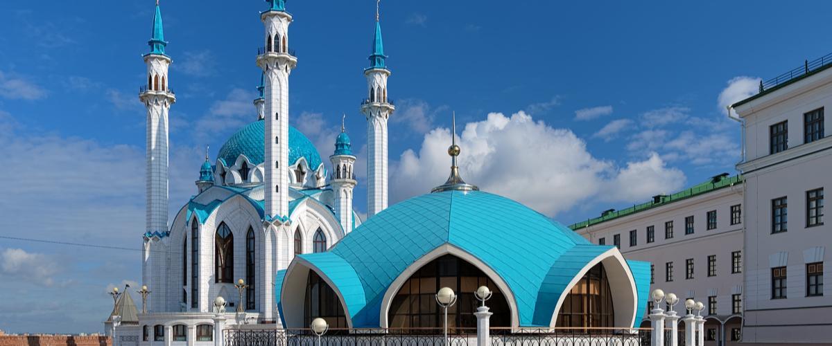 Kul Sharif moskeija Kazan Tatarstan Venäjä Lähialuematkat
