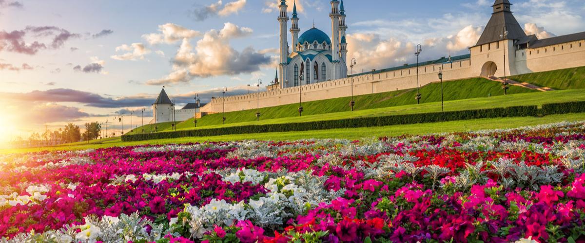 Kazan Kremlin Tatarstan Venäjä Lähialuematkat