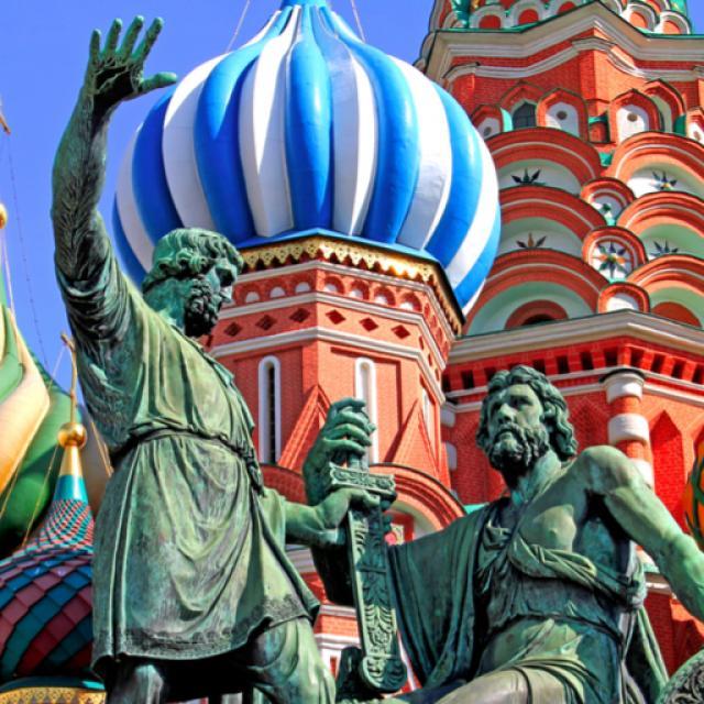 Punainen tori Moskovassa.