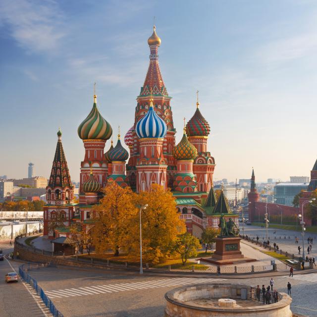 Vasilin katedraali Punaisella torilla.