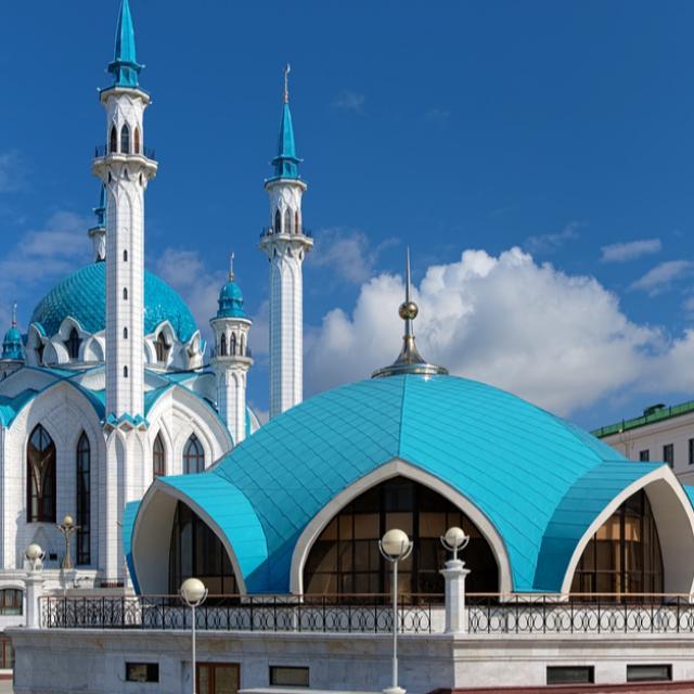 Kazanin kreml ihastuttaa